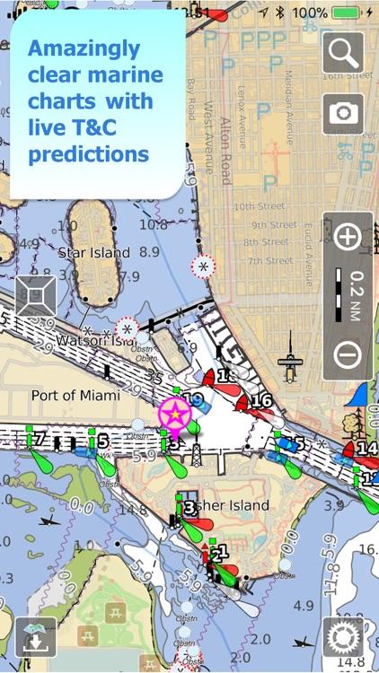Aqua Map US - Nautical GPS screenshot-0