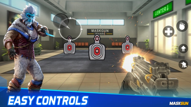 MaskGun: Online PvP FPS game screenshot-7
