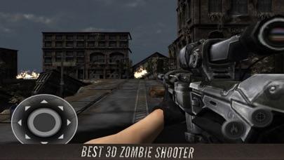 Military Shooter Zombie 3D screenshot one