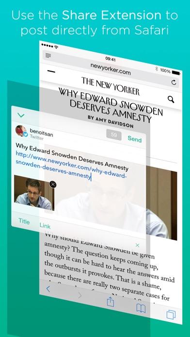 Linky for Twitter screenshot1