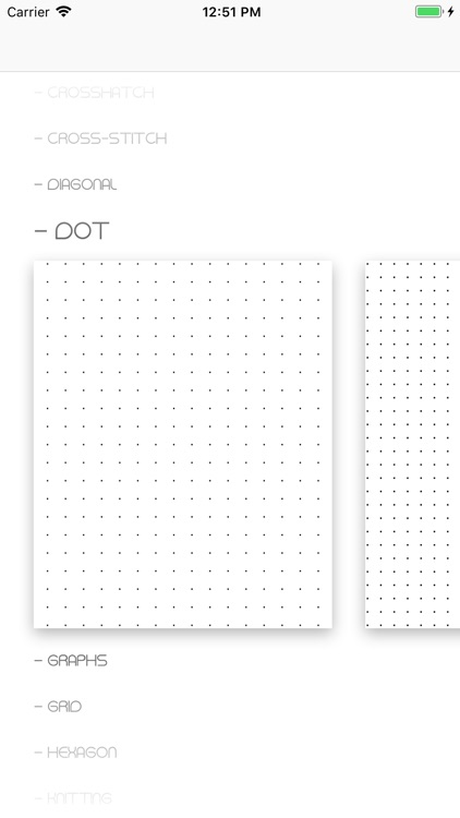 Printable Paper Templates screenshot-1