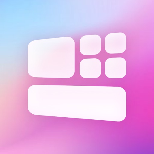 Colorful Widget-Home Screen