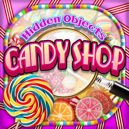 Hidden Objects Candy Shop Seek