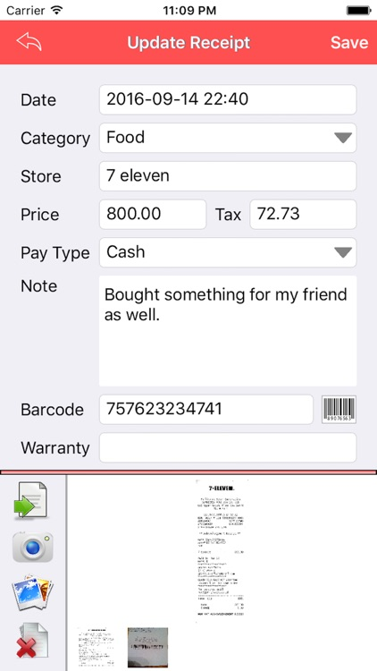 Receipt - Lite screenshot-1