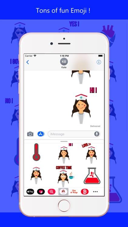 Nurse Heart Labs Emoji