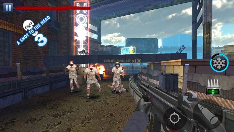 Battlelands Zombie screenshot-6