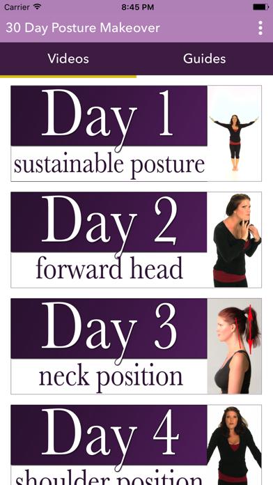 The 30 Day Posture Makeoverのおすすめ画像1