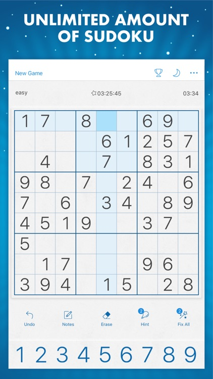 Sudoku Genuine Classic Puzzles screenshot-0