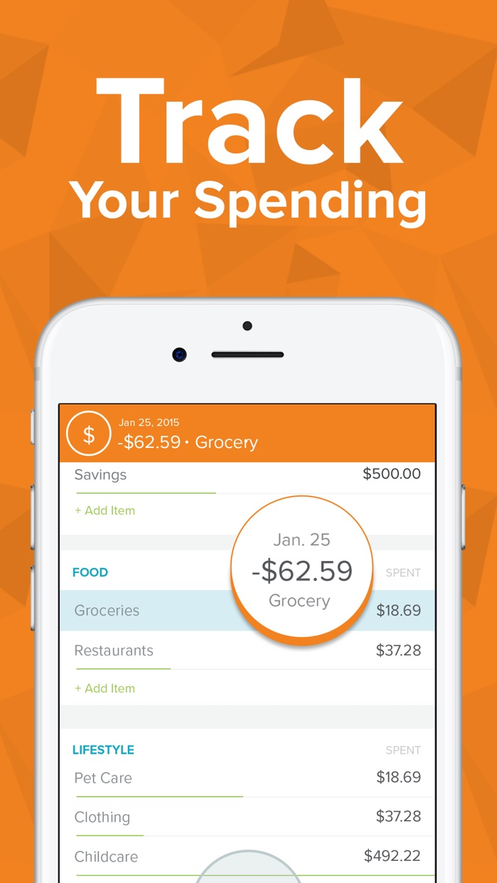 EveryDollar Easy Budgeting App Screenshot