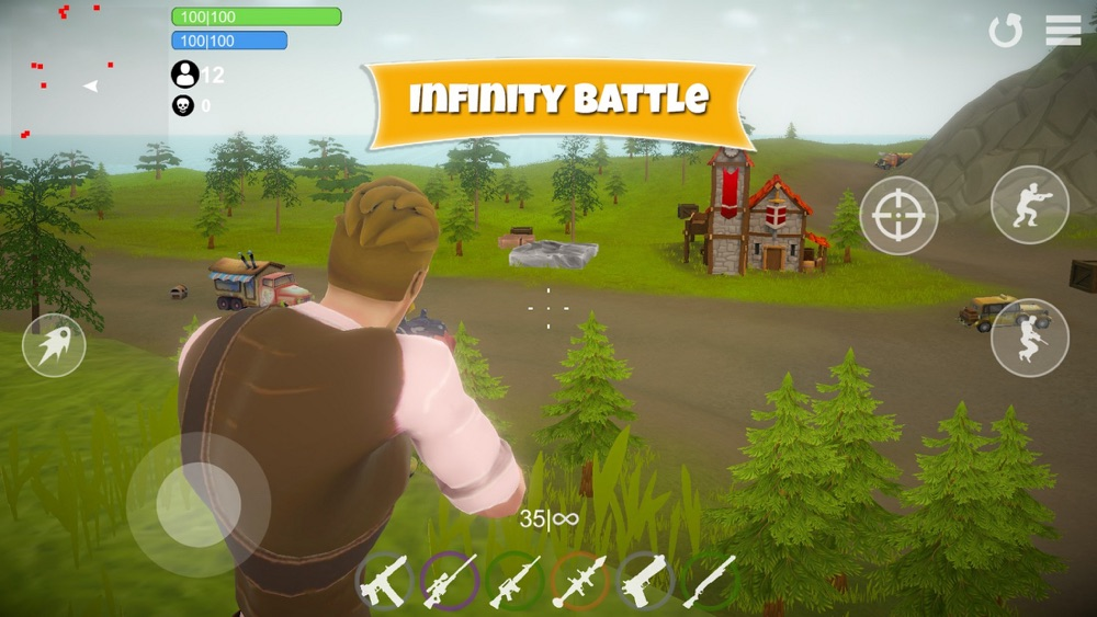 Battle Royale Fort Practice Cheat Codes