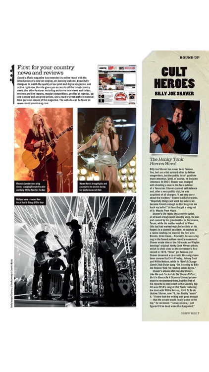 Country Music Magazine screenshot-3