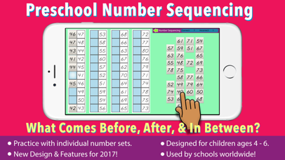Preschool Number Sequencing screenshot 1