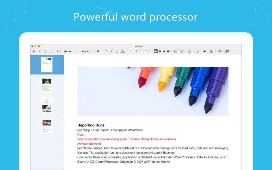 Document Writer Pro for Mac 1.6.1 破解版 - 文档编辑器