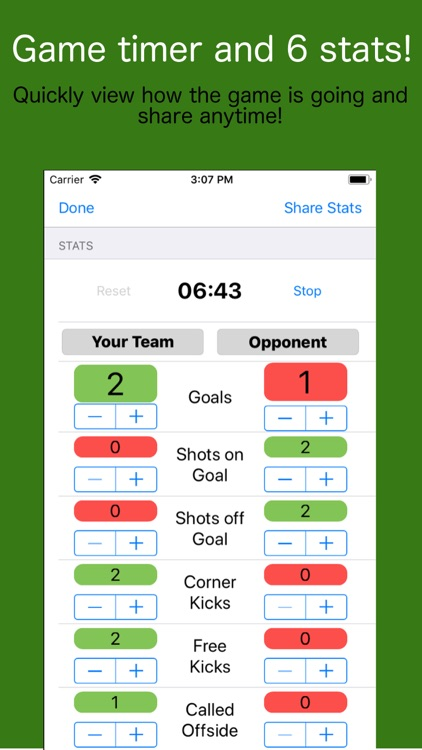 Stats2Share - Soccer screenshot-1