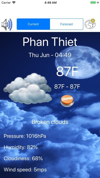 Weather Day Screenshots