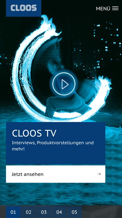 CLOOS AppScreenshot von 1