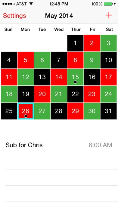 Screenshot for Firefighter & EMS Calendar in United States App Store