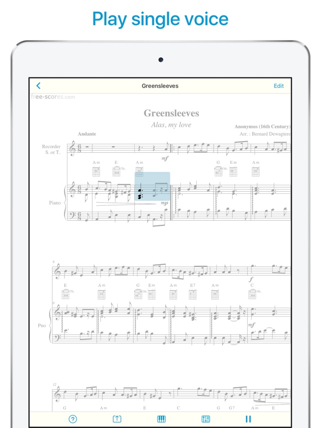 Sheet Music Scanner On The App Store