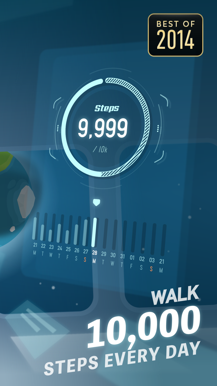 Walkr - A Gamified Fitness App Screenshot