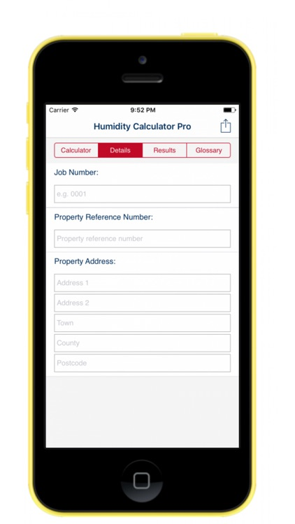 Humidity Calculator (Pro) screenshot-2
