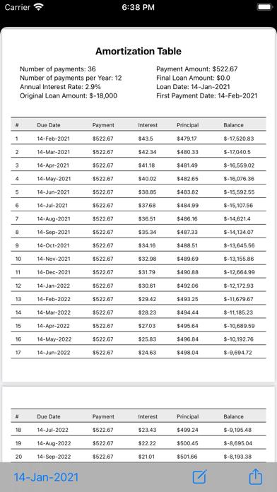 BA II Pro Financial Calculator Screenshots