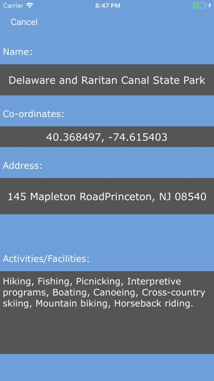 New Jersey State Parks_ screenshot-1