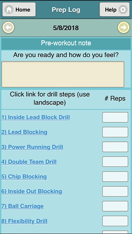 Running Back Prep screenshot-5