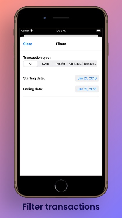 Ethereum Address Tracker screenshot-6