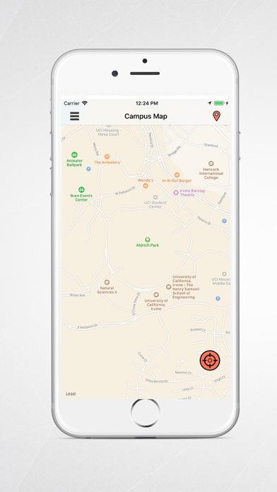 приложение карты кампуса