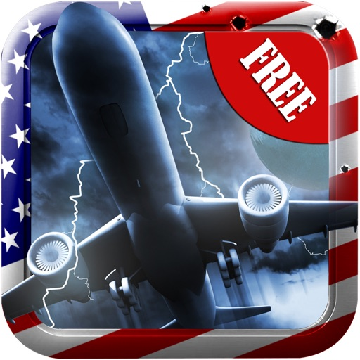 Airforce One is Down FREE : Fly Full Throttle to Save the President Plane From Fast Missiles & Jet Attack iOS App