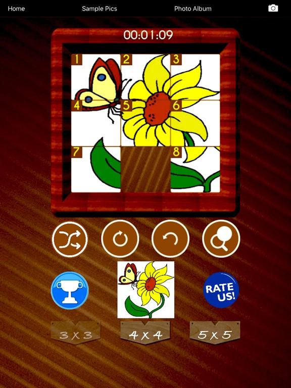 Sliding Puzzle Challenge screenshot 9