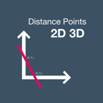 Distance Points Calculator