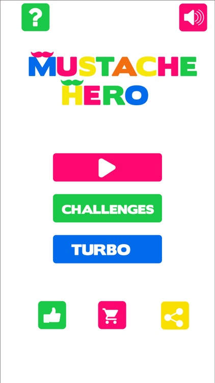 mustache hero - Colorful game screenshot-3