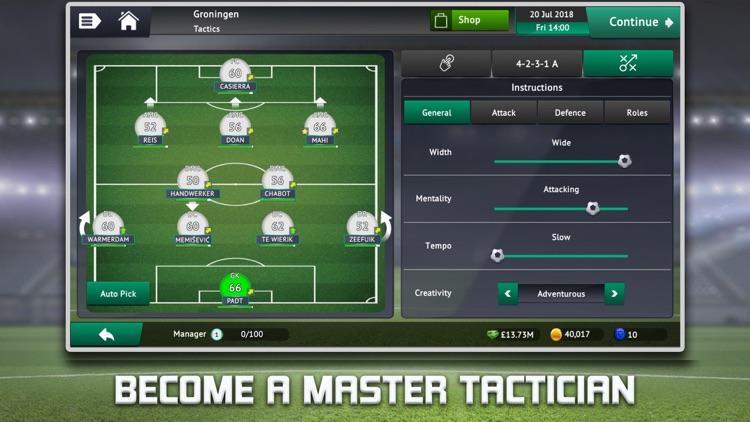 Soccer Manager 2019 screenshot-3