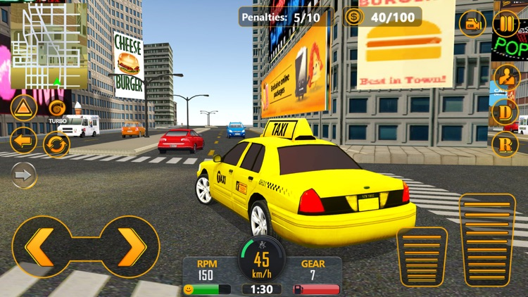 NYC Fastlane Taxi Driver screenshot-1