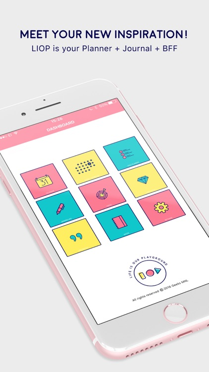 LIOP - Your Planner, Journal, Notes and BFF