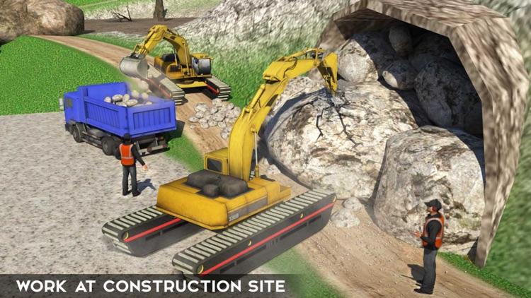 Excavator Crane Simulator & Dump Truck Driver: PRO