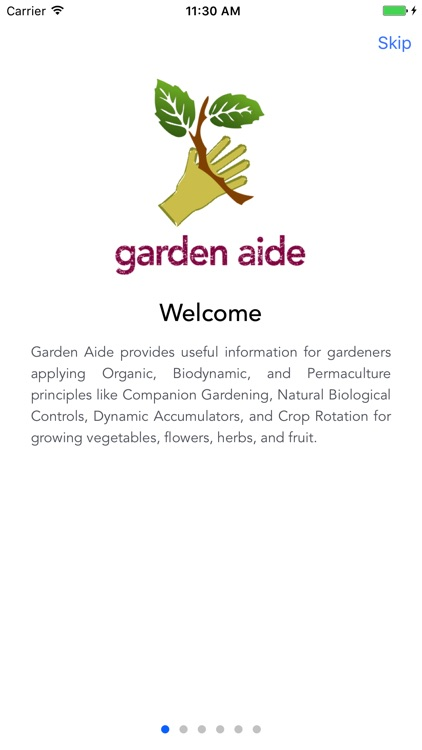 Garden Aide - Companion Plant Guide screenshot-0