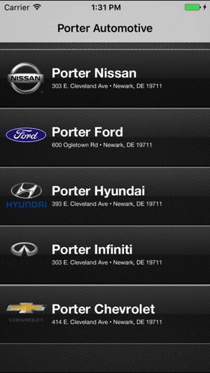 Porter Automotive On The App Store
