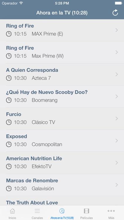 Televisión de México screenshot-3