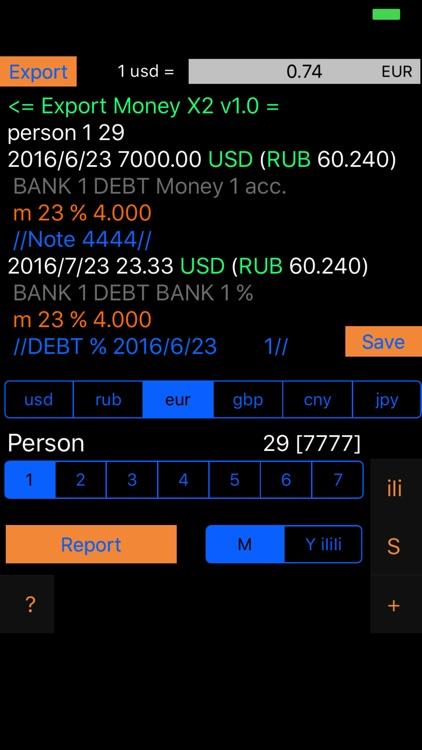 Money X2 - AR Personal & Business Budget Tracker screenshot-3
