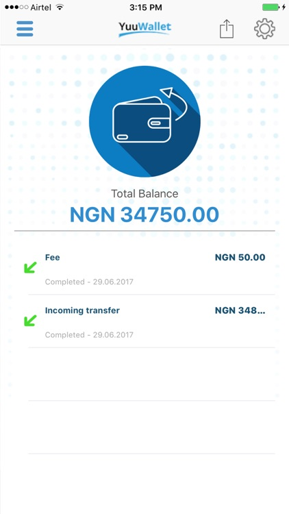 YuuWallet Nigeria screenshot-1
