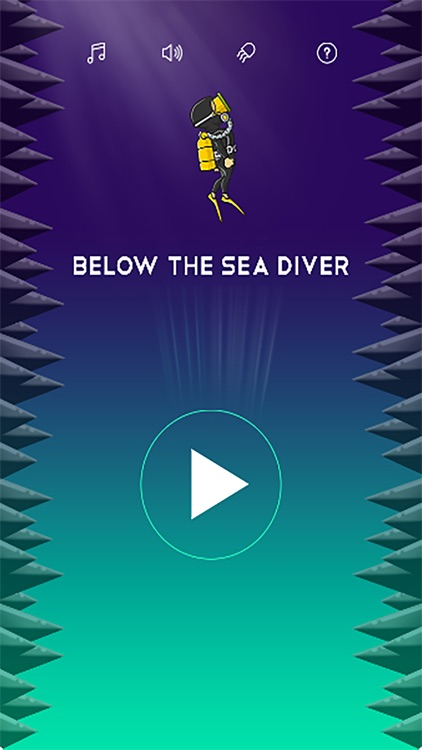 Below The Sea Diver