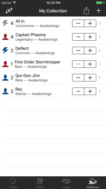SWDestiny companion for Star Wars Destiny screenshot-4