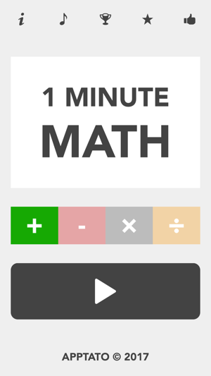 1 Minute Math on the App Store