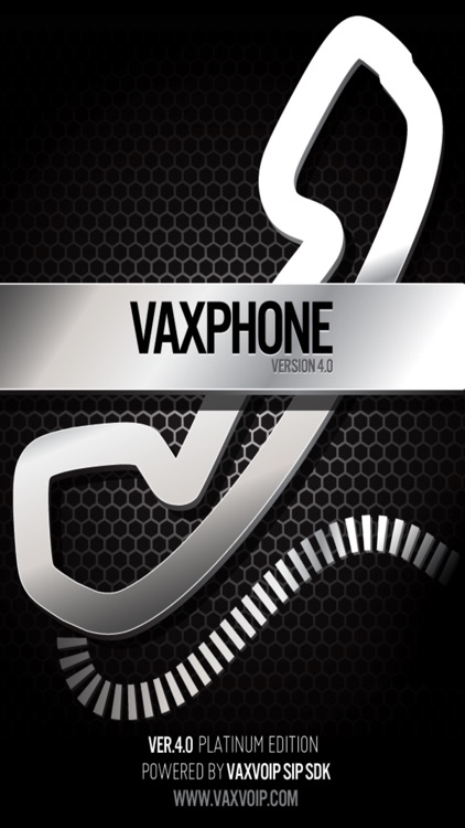 VaxPhone - SIP based softphone screenshot-0