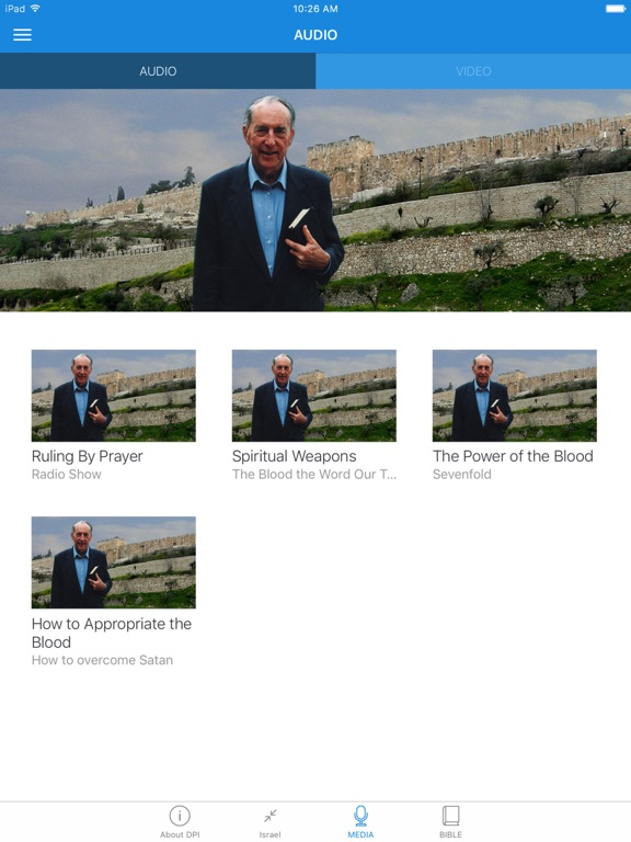 Derek Prince Israel screenshot 5