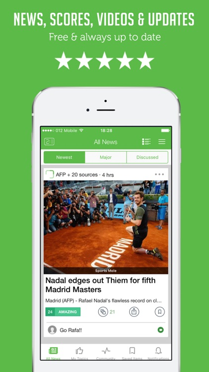 Tennis News Live - Stories, Results & Live Scores