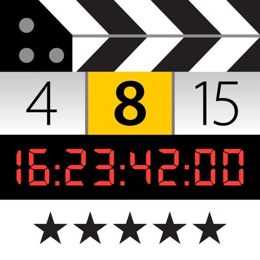 MovieSlate® 8 (Clapperboard + Shot Log)