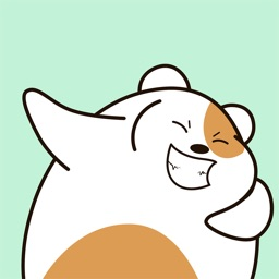 Animated Very Fat Hamster Stickers